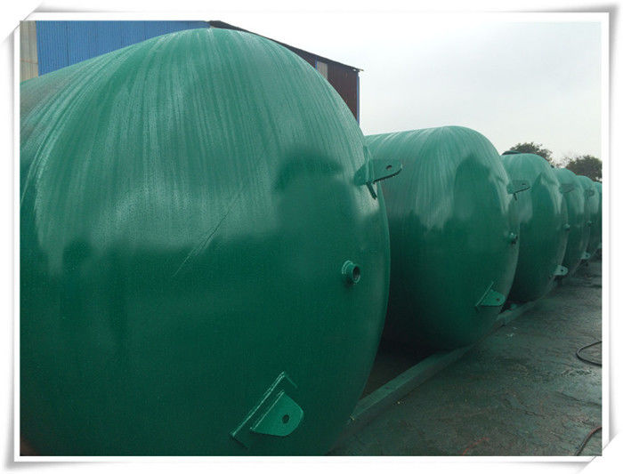 Customized Carton Steel Compressed Air Storage Tank Anti Corrosive Painting